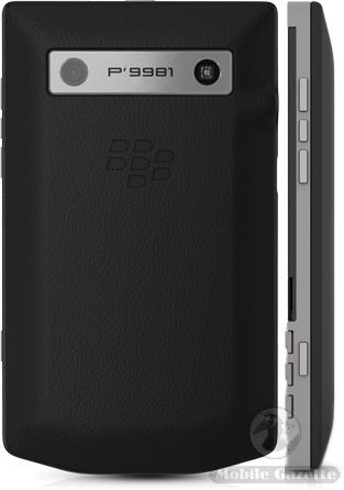 porsche design p 9981 smartphone from blackberry mobile gazette mobile phone news. Black Bedroom Furniture Sets. Home Design Ideas