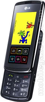 Praktični LG-KF600 s inovativnim InteractPadom™