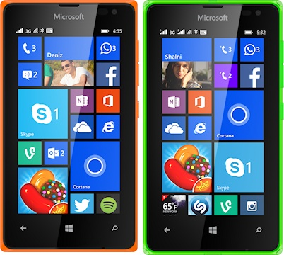 Microsoft Lumia 435 and 532