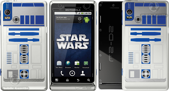 Motorola DROID 2 Star Wars