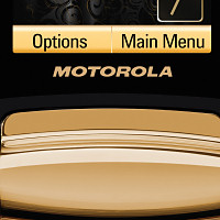 Motorola RAZR 2 V8 Luxury Edition Closeup 5