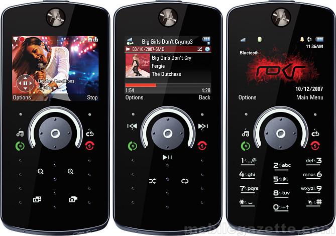 Motorola ROKR W5 Video clips