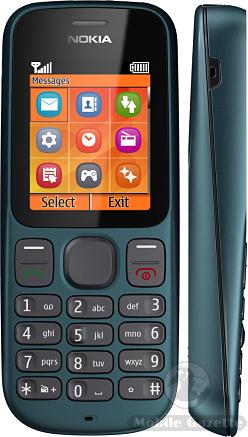 harga Nokia 100 baru bekas, fitur spesifikasi ponsel handphone Nokia 100, Gambar foto kelemahan kekurangan dan kelebihan desain Nokia 100