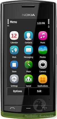 How To Gps A Phone >> Nokia 500 - Mobile Gazette - Mobile Phone News