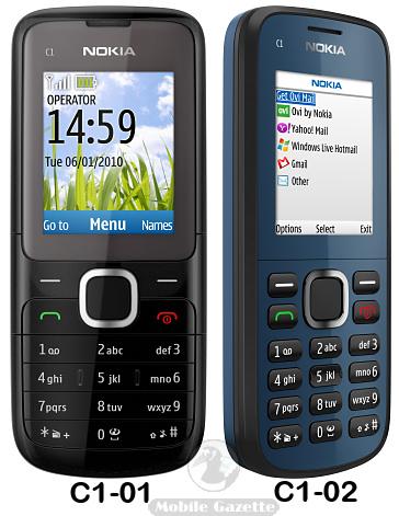 Nokia C1-01 and C1-02 - Mobile Gazette - Mobile Phone News