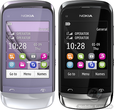 C2 handsets should be available during Q3 2011. The C2-02 and C2-03 ...