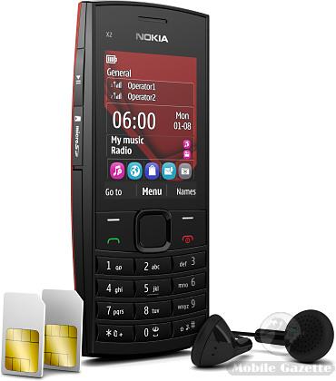 تقرير مفصل عن موبايل Nokia X2-02