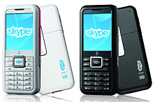 Skypephone colours