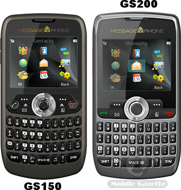MessagePhone QS150 and QS200
