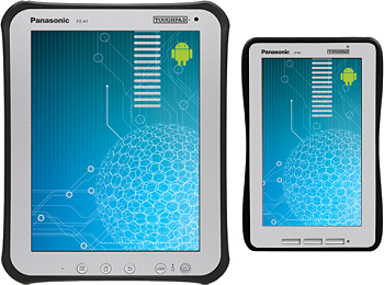 Panasonic Toughpad  A1 and B1