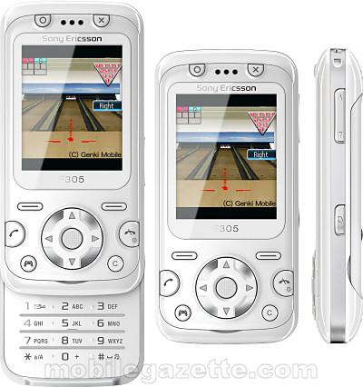 Sony Ericsson F305 - Mobile Gazette