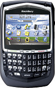 BlackBerry 8700g Black