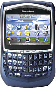 BlackBerry 8700g Blue
