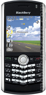 BlackBerry Pearl 8100 front