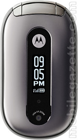 Motorola PEBL V6 closed