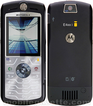 Motorola SLVR L7 with i-mode