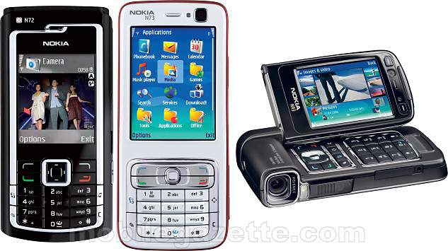Nokia N72, N73 and N93 - Mobile Gazette - Mobile Phone News