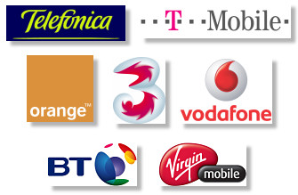 Major Mobile Carriers / Networks