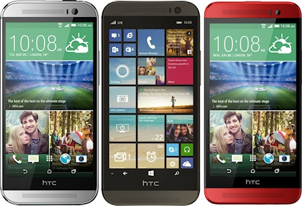 HTC One M8 and One E8