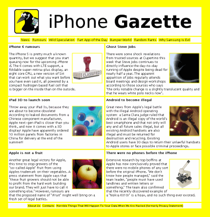 iPhone Gazette