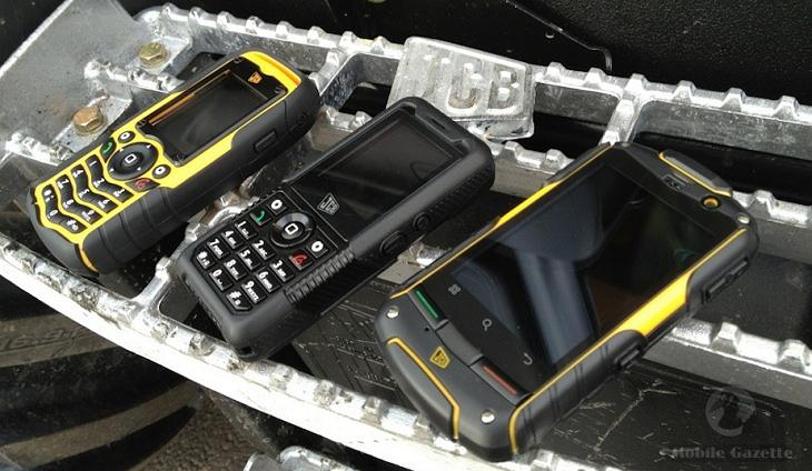 JCB Toughphone Range