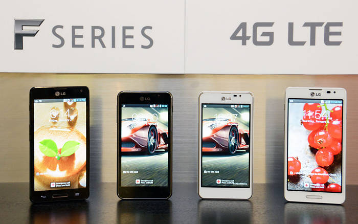 LG Optimus F5 and F7