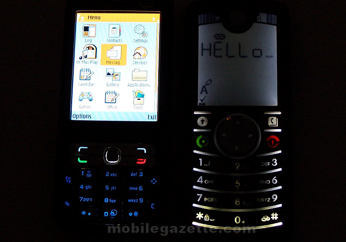 Motorola FONE F3 backlight