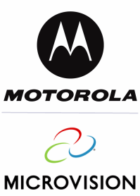Motorola and Microvision