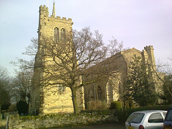 Exterior of Elstow Abbey Church