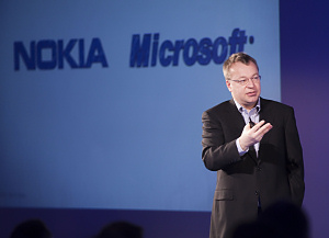 Stephen Elop, CEO of Nokia