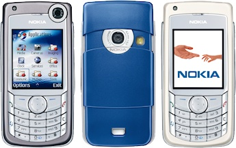 Nokia 6680, 6681 and 6682