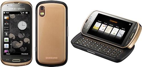 Samsung Giorgio Armani Smartphone