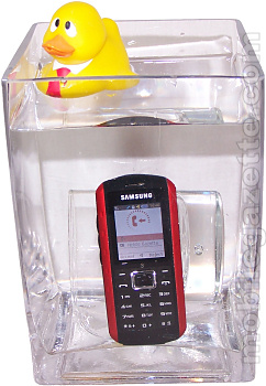 Samsung B2100 under water