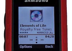 Samsung B2100 music player